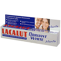 "Зубная паста ""Lacalut Brilliant White Menta"""